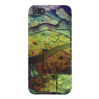 Artes abstractos - fiebre de selva iPhone 5 carcasas