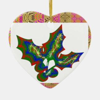 Artes creativos: Gráficos del ACEBO Adorno De Cerámica En Forma De Corazón