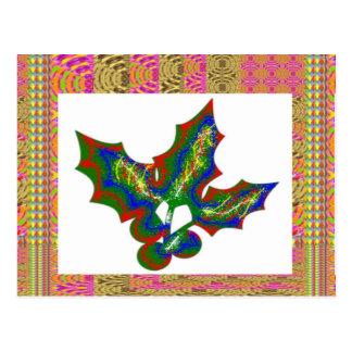 Artes creativos: Gráficos del ACEBO Tarjeta Postal