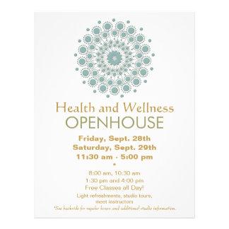 """Artes curativos y salud y salud naturales folleto 8.5"""" x 11"""""""