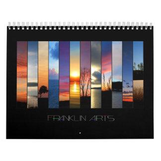 Artes de Franklin - calendario 2009