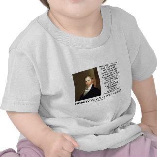 Artes de Henry Clay del poder que sus subordinados Camisetas