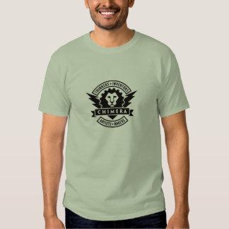 Artes de la quimera y camiseta del espacio del camisas