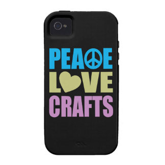 Artes del amor de la paz Case-Mate iPhone 4 carcasas