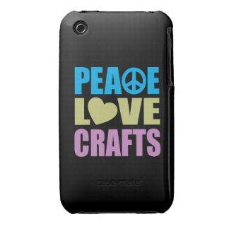 Artes del amor de la paz iPhone 3 protector