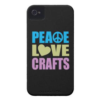 Artes del amor de la paz iPhone 4 Case-Mate fundas