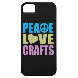 Artes del amor de la paz iPhone 5 funda