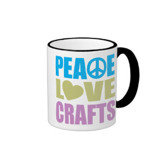 Artes del amor de la paz tazas de café