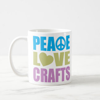 Artes del amor de la paz taza de café
