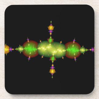 artes del fractal posavasos