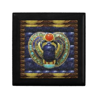 Artes del templo del VINTAGE de las PIRÁMIDES de E Cajas De Recuerdo