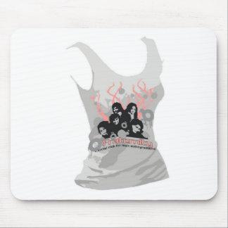 Artes divertidos de la camiseta, mouse pads