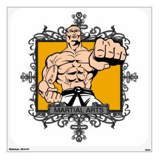 Artes marciales agresivos vinilo decorativo