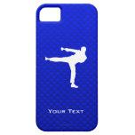 Artes marciales azules iPhone 5 cobertura
