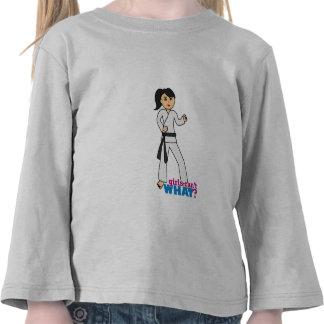Artes marciales - cola de caballo (medio) camiseta