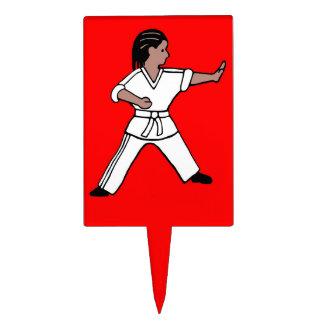 Artes marciales de la torta de Karate Kid 1 del pr Figuras De Tarta