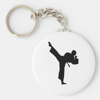 Artes marciales del karate llavero personalizado