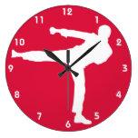 Artes marciales del rojo carmesí relojes