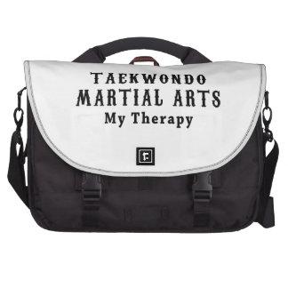 Artes marciales del Taekwondo mi terapia Bolsas Para Ordenador