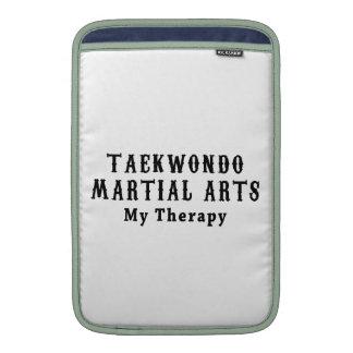 Artes marciales del Taekwondo mi terapia Funda Para Macbook Air