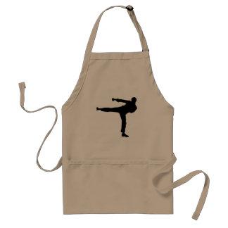 Artes marciales delantal