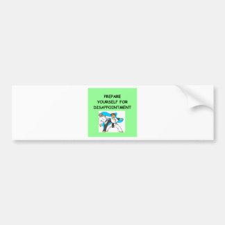 artes marciales etiqueta de parachoque