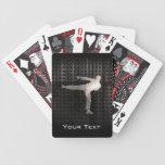 Artes marciales frescos barajas de cartas