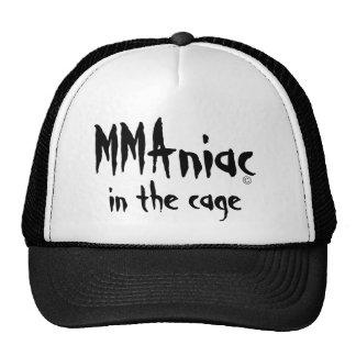 Artes marciales mezclados maniacos en el gorra de