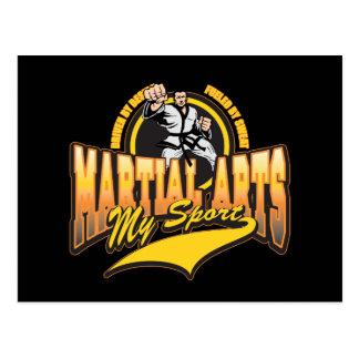 Artes marciales mi deporte postal
