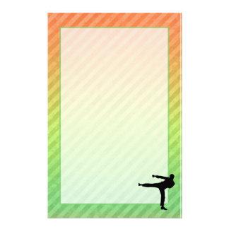 Artes marciales  papeleria de diseño