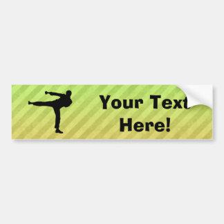 Artes marciales pegatina para auto