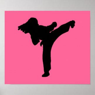 Artes marciales poster