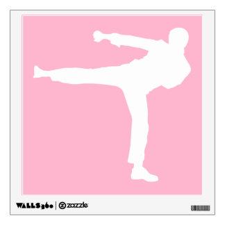 Artes marciales rosas claros vinilo