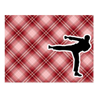 Artes marciales tarjetas postales