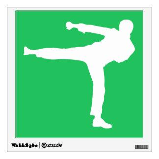 Artes marciales verdes de Kelly Vinilo Decorativo