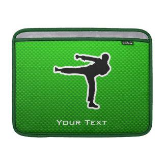 Artes marciales verdes fundas MacBook