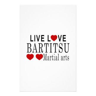 ARTES MARCIALES VIVOS DEL AMOR BARTITSU  PAPELERIA