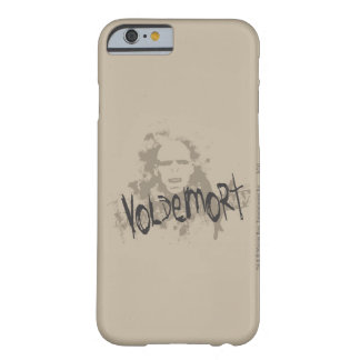 Artes oscuros de Voldemort gráficos Funda Para iPhone 6 Barely There