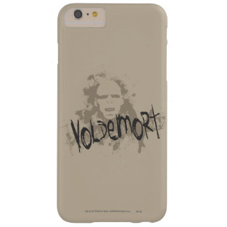 Artes oscuros de Voldemort gráficos Funda Para iPhone 6 Plus Barely There
