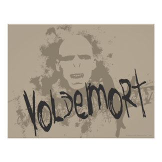 Artes oscuros de Voldemort gráficos Poster