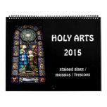 Artes santos 2015 calendarios