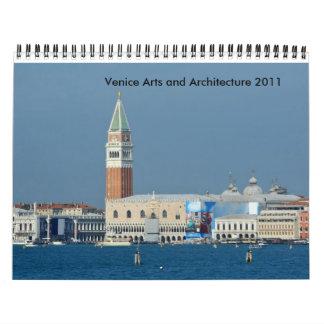 Artes y arquitectura 2012 de Venecia Calendario