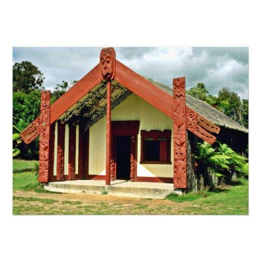 Artes y artes maoríes instituto, Rotorua Invitacion Personalizada