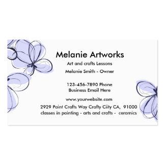Artes y artes tarjetas de visita