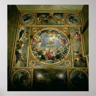 Artes y ciencias, 1636 póster