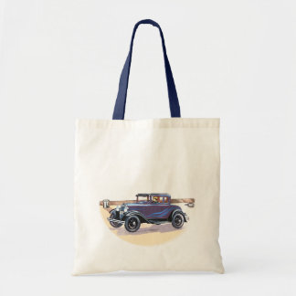 artes y compras del automóvil del vintage de los a bolsa de mano