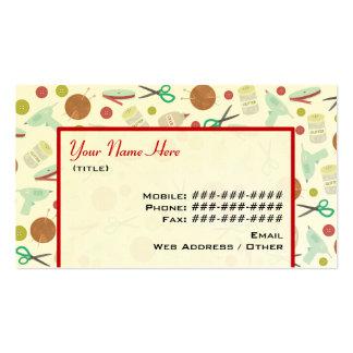 Artes y tarjeta de visita temática de los artes