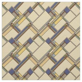Artes y tela geométrica de la caída de los artes telas