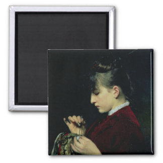 Artesanía, 1887 imán cuadrado