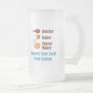 Artesano de la comida taza